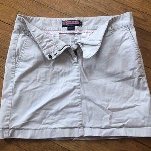 Vineyard Vines Cream Skirt